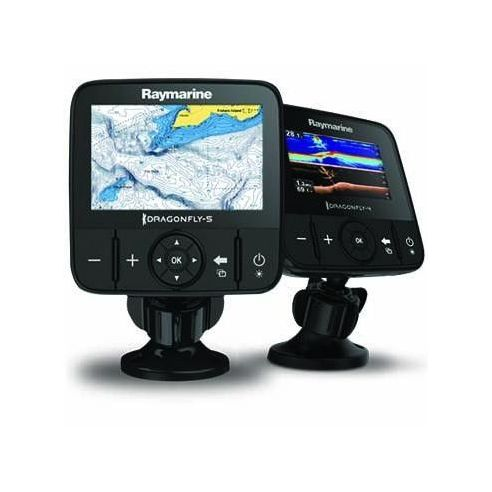 "Echolotas Dragonfly 4DV 4.3"" DownVision, sonaras/CHIRP/GPS"