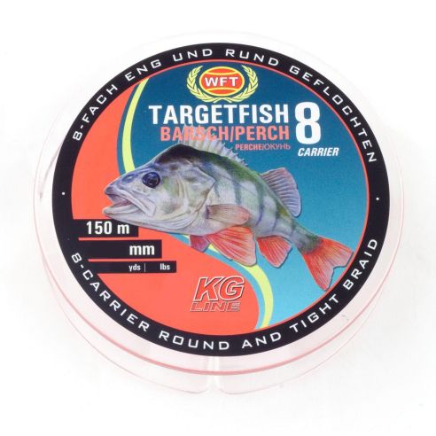 Valas WFT Target Fish TF8 Perch Red 150m
