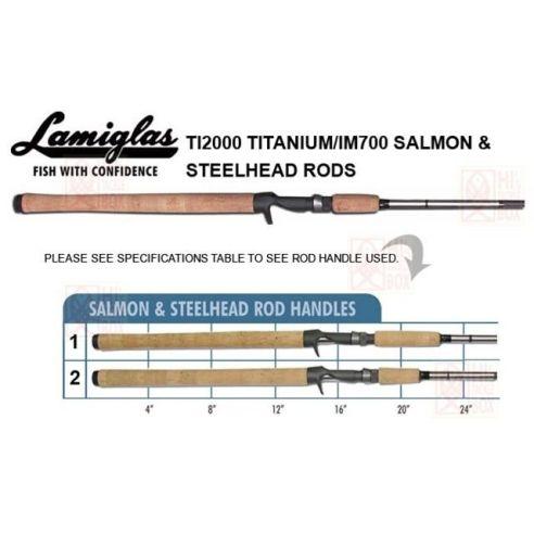 Spiningas Lamiglas TBS 86 ML Titanium