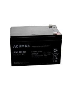 Akumuliatorius ACUMAX AM12-12 12V 12Ah AGM VRLA