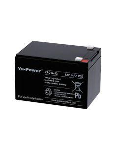 Akumuliatorius YUASA YPC14-12 12V 14h AGM VRLA