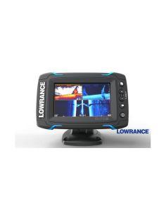 Echolotas Lowrance Elite-5 Ti Mid/High/TotalScan